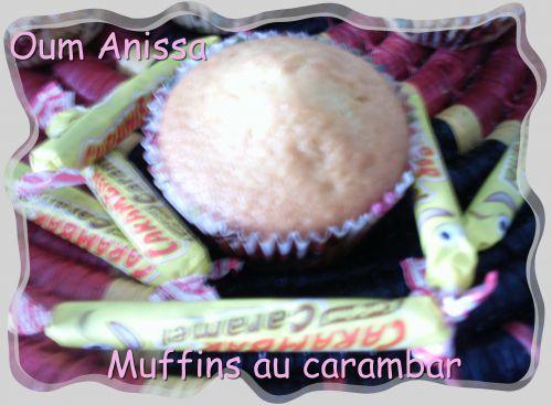 muffins au carambar 1