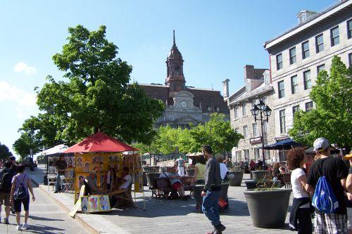 La Place Jacques Cartier