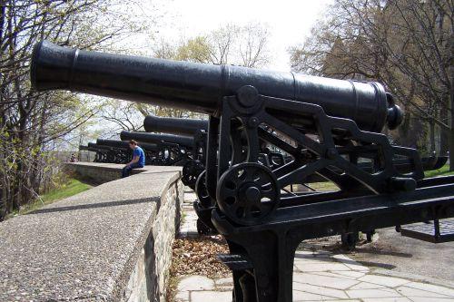 Les canons du parc Montmorency