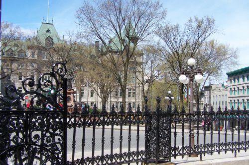 grilles de la  basilique - cathédrale Notre Dame de Québec