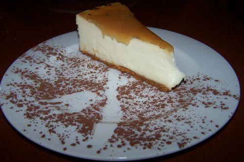 Gâteau au  fromage ' Café Bohême ' à Tadoussac