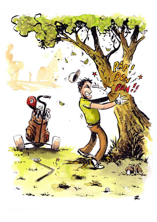 Illustraion Golf