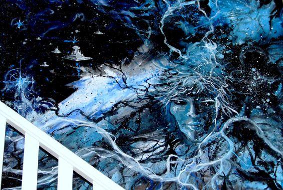 toile Romain Lecocq 200X150 cm