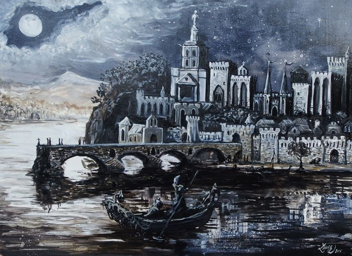 Peinture Avignon Romain Lecocq