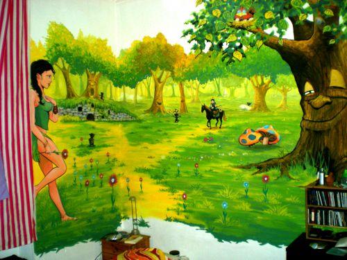 La forêt d'Erêve