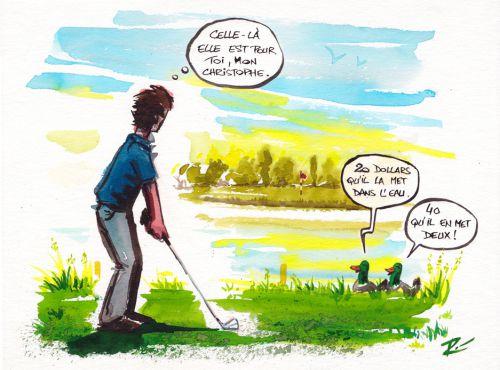 Illustration Golf