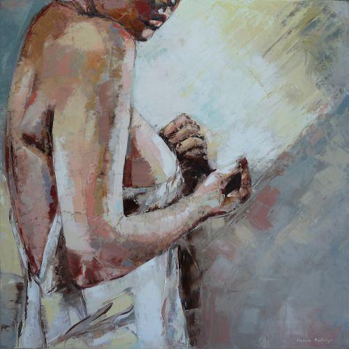 Marcos RODRIGO  2014 - Dans sa robe blottie --
