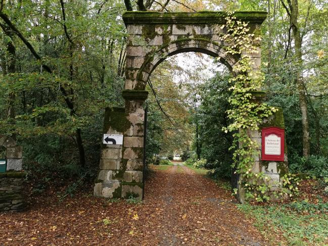 Entrée du Château de Bellefond
