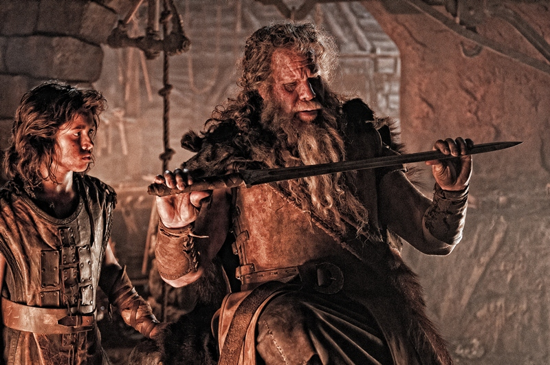 conan the barbarian 2 father of young connan boy ron perlman new 2011 movie poster.jpg