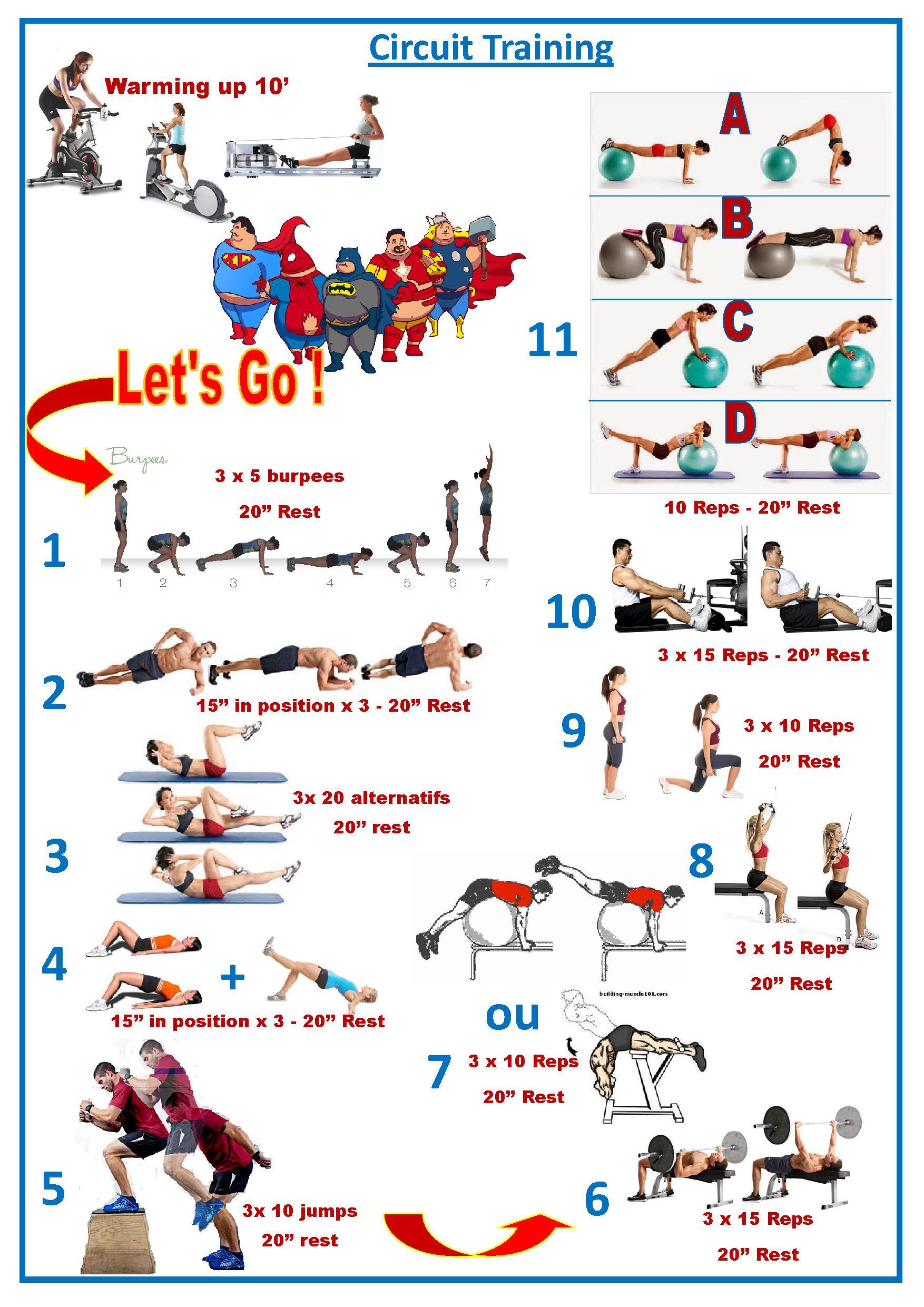 Exercices de gainage - Ecole Bushido Jambes Taekwon-do ITF & Kick-Boxing