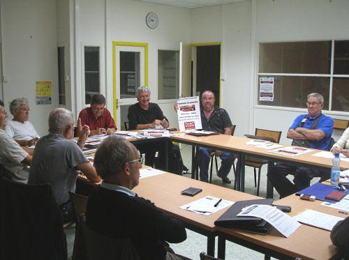 Réunion de fravail 09/09/2011