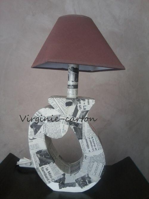 Lampe arrondie