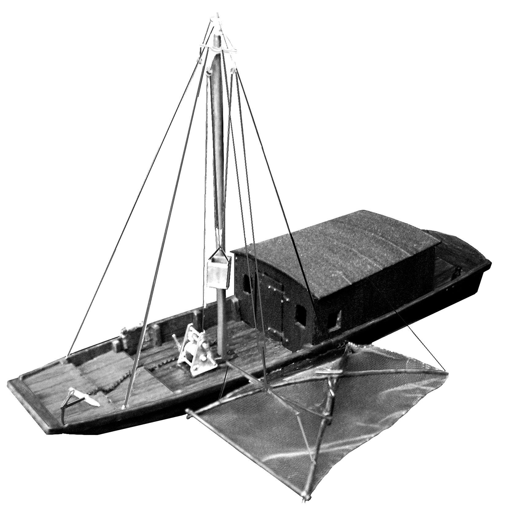1 Toue de pêche de basse Loire - Transp  - .JPG