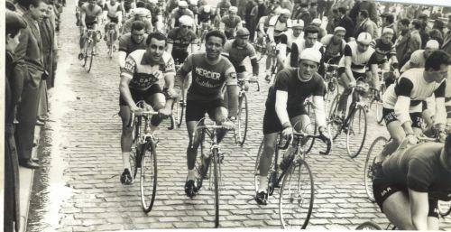 Christian Bannes et Mohamed Ben Brahim, Bordeaux-Saintes 1958