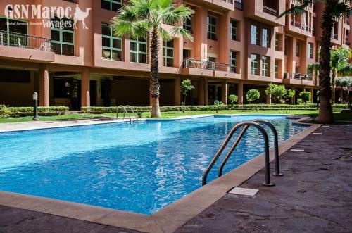 Location appartement meubl r sidence mirador majorelle - Residence les jardins de majorelle marrakech ...