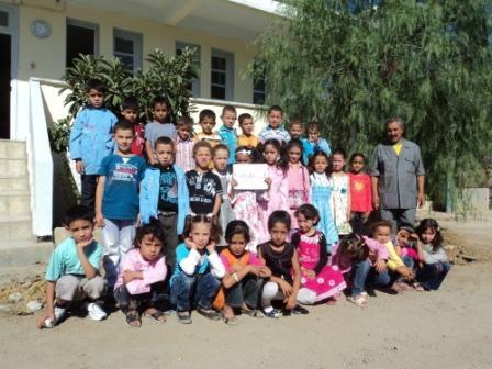 Rentrée scolaire du 11 septembre 2011 à l'école de Lemroudj