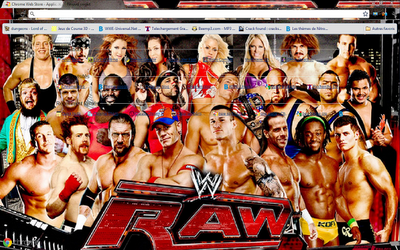 WWE raw roster