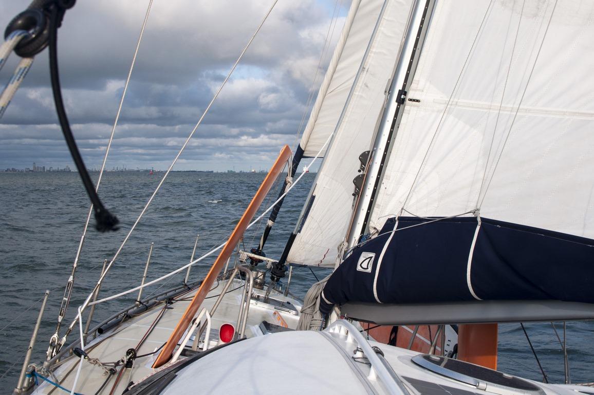 navigation depuis Dunkerque, cap au nord