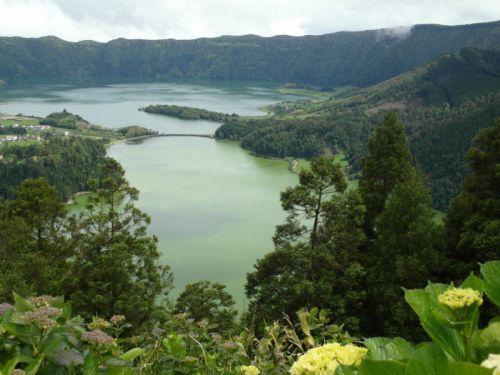 lagoa verde et azul