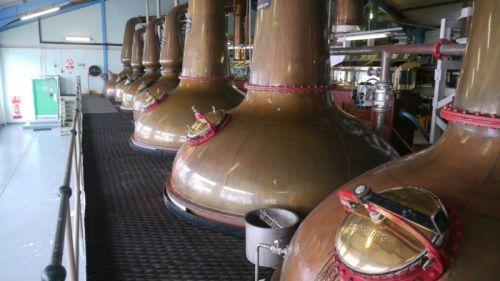 distillerie Laphroaig sur l'ile d'Islay en Ecosse