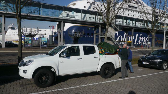 embarquement a Kiel