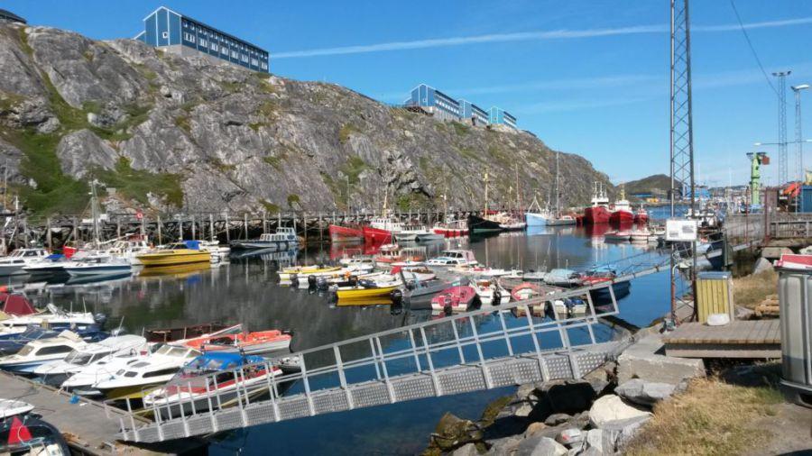 Nuuk, capitale du Groenland