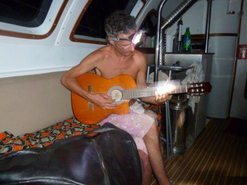 Stephane a la guitare