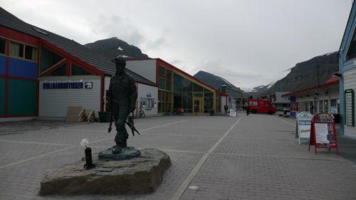 place centrale de Longyearbean