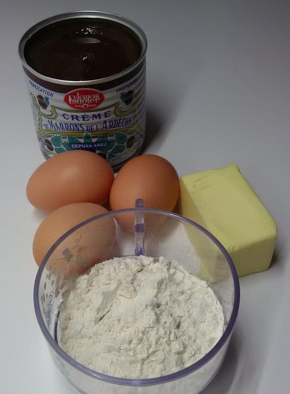 ingrédients gâteau chataignes.jpg