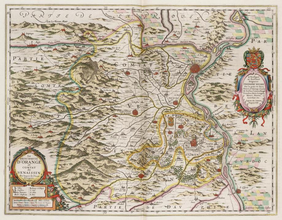 8 - 1627 Plan de la Principauté D'Orange.jpg