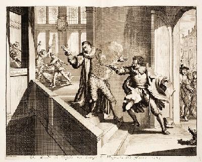 21 - Assassinat de Guillaume 1er en 1584.jpg