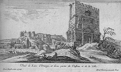 22 - Chateau d'Orange gravure Israel Henriet.jpg