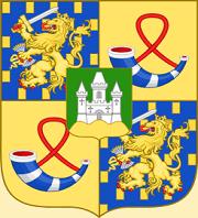 32 - Blason de Willem-Alexander prince d'Orange (1980-2013) du Roi des Pays-Bas .png
