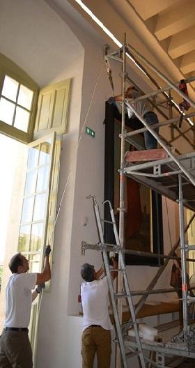 40 - 8 - 3 - Restauration salle des malades.jpg