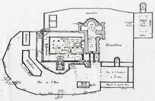 07 - 2 - Plan de la cathédrale sur site.jpg