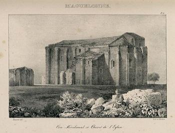 11 - 3 - Gravure du XIXème de la cathédrale 2.jpg