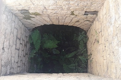 Tunnel de Sernhac puit de niveau.jpg