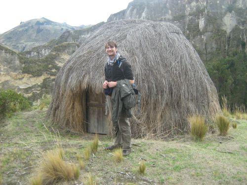 Les maisons autochtones des bergers...