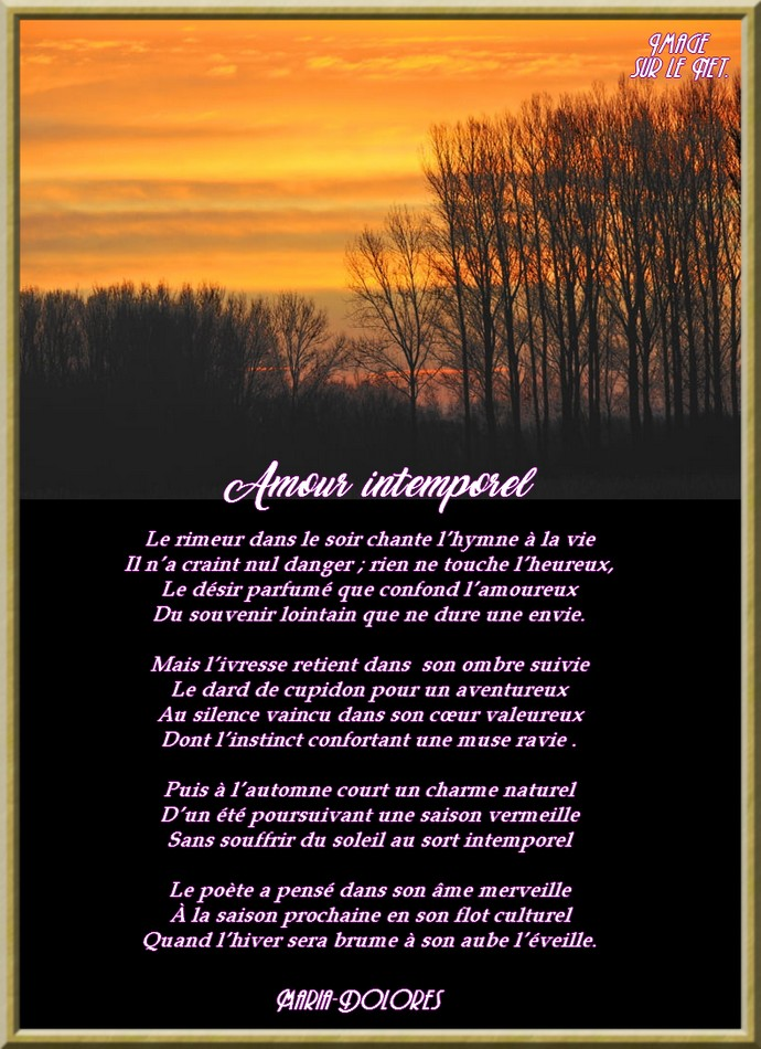 Amour intemporel