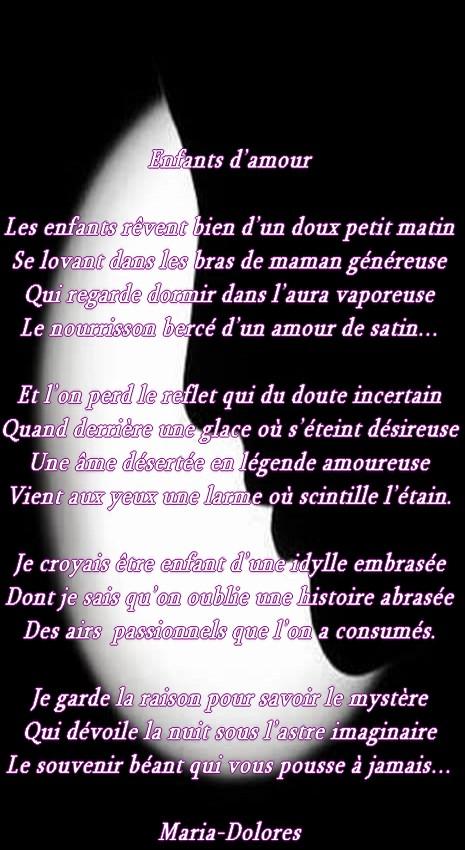 Enfants Damourforme Le Sonnet Marotique Poemes De