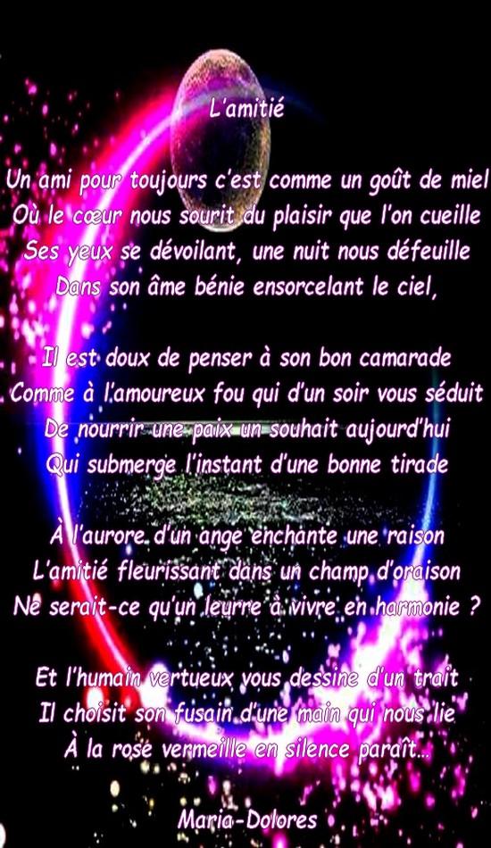 Lamitiéforme Le Sonnet Irrégulier Poeme De Marido