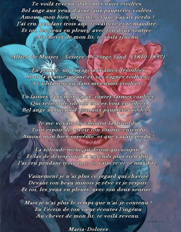 Lettre a George Sand par Alfred de musset Glose..jpg