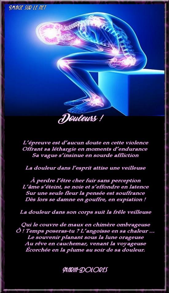 Douleurs Forme Le Sonnet Irrationnel Image Sur Le Net