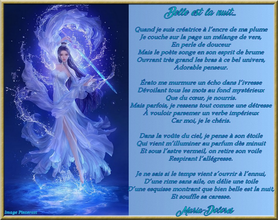 Belle est la nuit