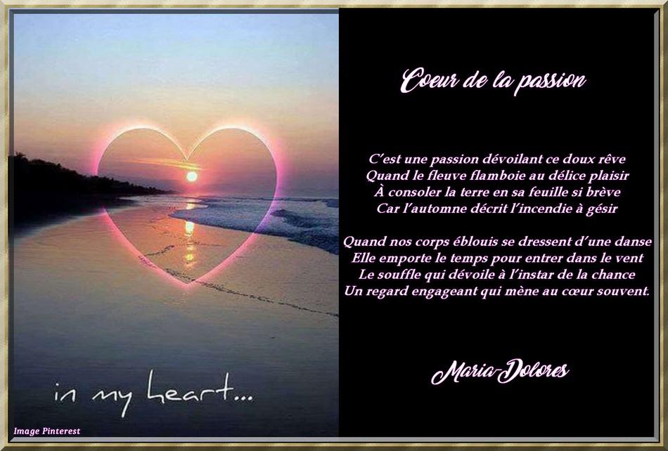 Coeur de la passion