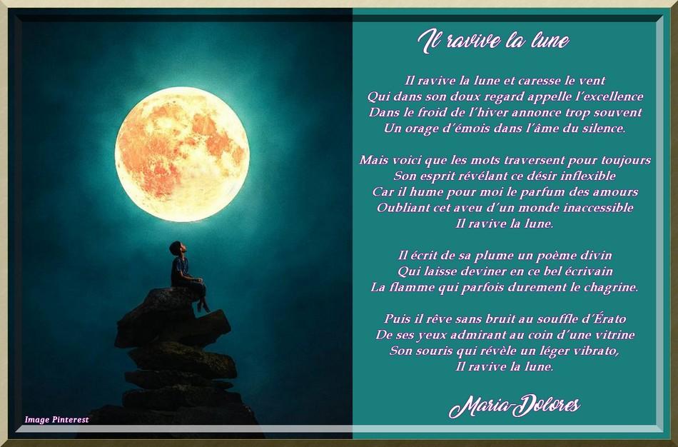 Il ravive la lune
