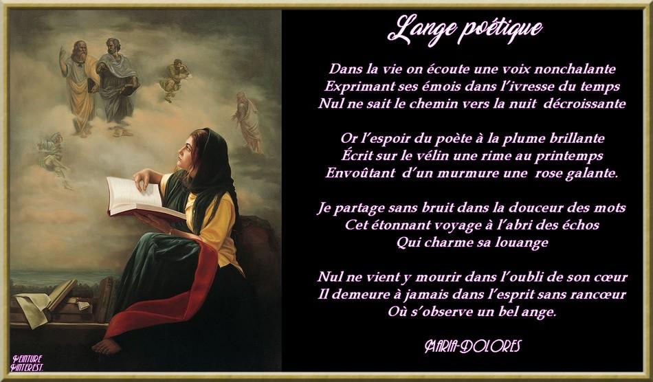 L\\\'ange poétique