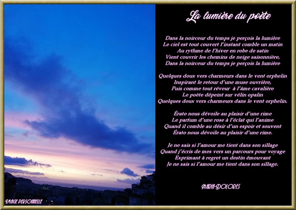 La lumière du poète