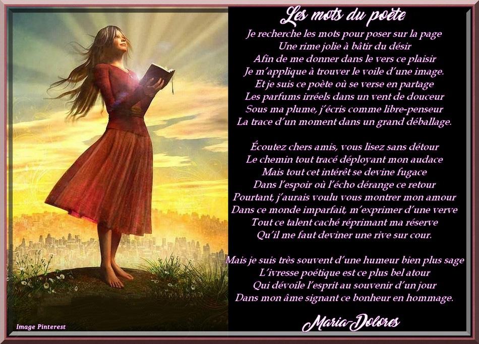Les mots du poète