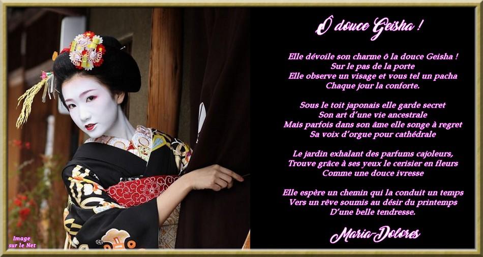 Ô douce Geisha !